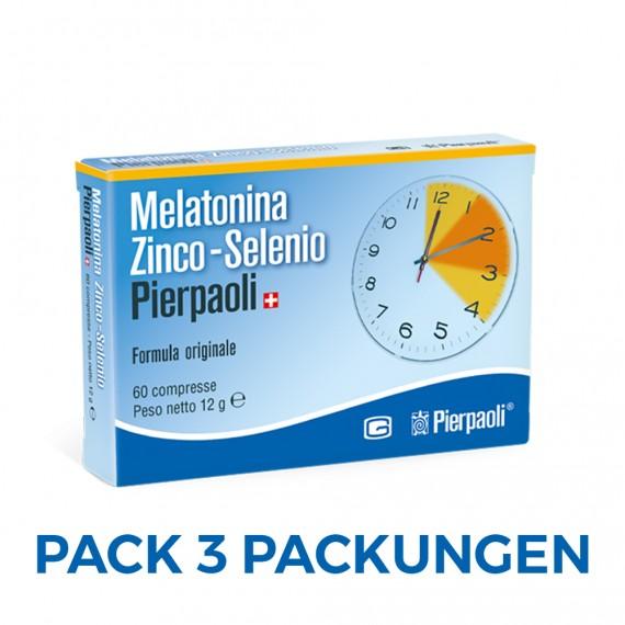Melatonin ZNS Pierpaoli 1mg - 3 Boxes - (180 Tabs)