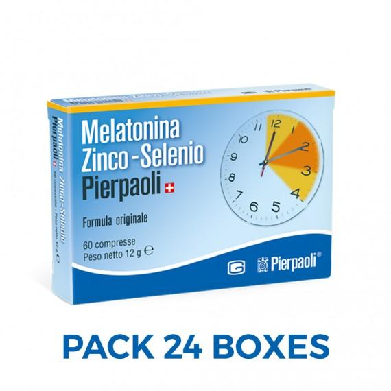 Melatonin Zinc-Selenium Pierpaoli-MEGAPACK24