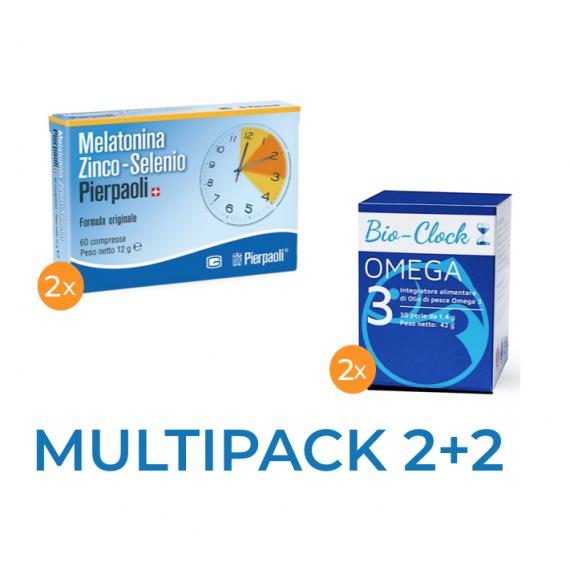 OMEGA3 fish oil supplement+  Melatonin ZNS Pierpaoli 2 boxes