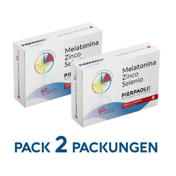 Melatonina Zinco-Selenio Pierpaoli - 2 Packungen