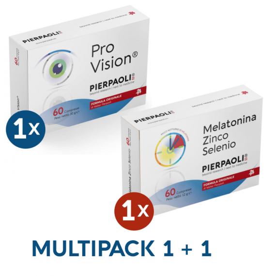Melatonina Zinco-Selenio Pierpaoli - ProVision® Pierpaoli