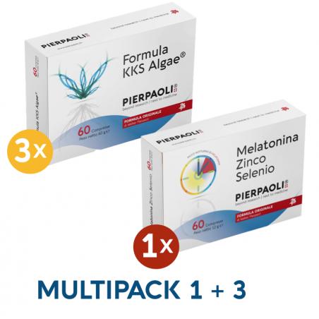 Formula KKS ALGA Pierpaoli + Melatonina Zn-Se Dr.Pierpaoli